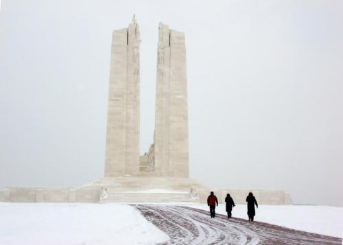 CANADIAN MEMORIAL, VIMY RIDGE