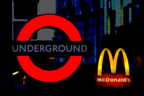 MCDONALDS GOING UNDERGROUND
